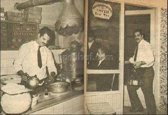 Türk sinemasının kötü adamı Erol Taş'ın Çay evi.