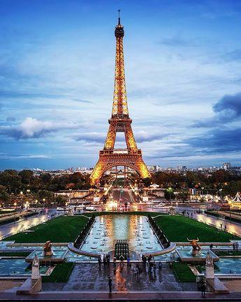 Eiffel Tower, Paris - The MAN