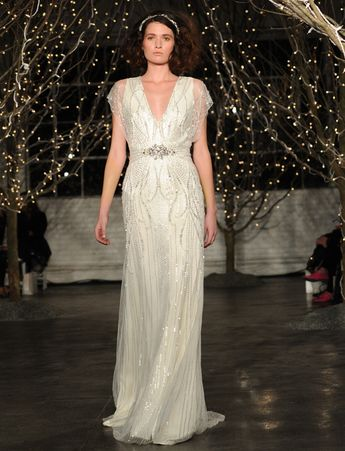 Jenny Packham Spring 2014 Collection and 25th Anniversary Runway