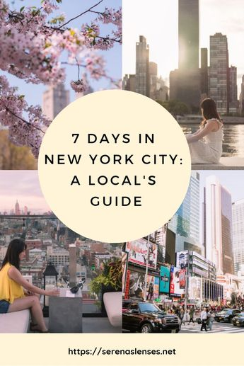 7 Day New York Itinerary: What to Do in 7 Days in NYC