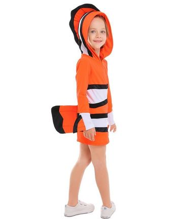 5f7e8a80618 Girls Nemo Clownfish Dress kid Party Stage Play Costume – FADCOVER