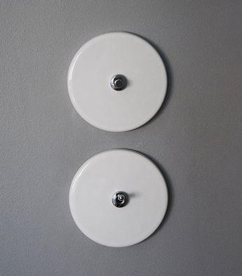 Black Porcelain Switches 021 Matt