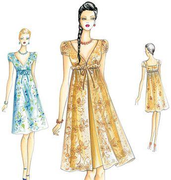 F3145 | Marfy Dress | Evening / Prom | Kwik Sew Patterns
