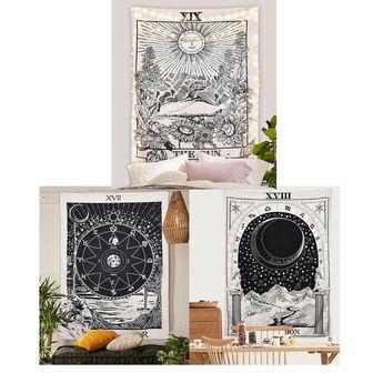 Sun Moon Star Tapestry Indian Wall Hanging Mandala Boho Bedspread Home Decor US - Boho Décor - Ideas of Boho Décor #bohodecor #boho #decor -   Sun Moon Star Tapestry Indian Wall Hanging Mandala Boho Bedspread Home Decor US  Price : 12.36