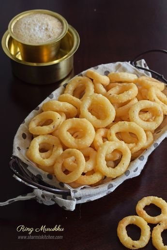 Ring Murukku Recipe   Easy Chegodilu – Andhra Special