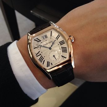 The Cartier Tortue is quite cool and quirky. Beautifully decorated movement as well.