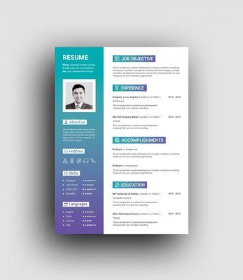 Hera Elegant Professional Resume Template 001458 - Template Catalog