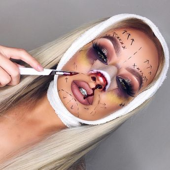 75 Pretty Halloween Makeup Ideas—Minimal Costume Required