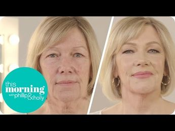 Charlotte Tilbury's Incredible Anti Ageing Make-Up Masterclass | This Morning - YouTube