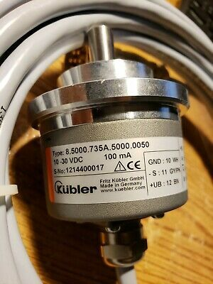 (Sponsored)(eBay) Kubler 8.5000.735A Encoder 10-30v-dc with cable