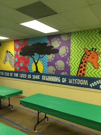 Theme Verse Banner for Camp Kilimanjaro VBS (Community Bible Church, Irving, TX)