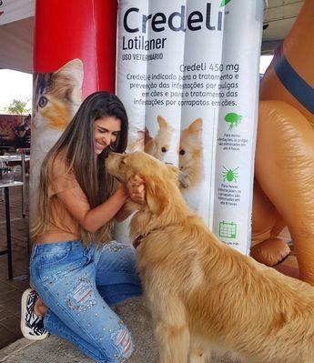 Aquele olho no olho que diz mais que mil palavras ! 🐶🧡🐶 . . Prestigiando o 1º PET GARDEN, evento voltado pro público pet e para os apaixonados por eles,  como eu! . .  Parabéns ao @viacafegardenshopping e a  todas empresas envolvidas pela organização! . . #petgarden  #viacafegardenshopping  #shopping  #varginha  #petlovers  #dogs  #cães  #goldenretriever  #love  #credeli  #elanco  #goodmoments  #photooftheday  #instapet