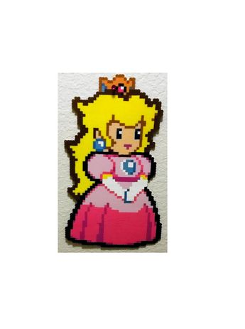 Paper Mario Perler Beads 8 Bit Ideas And Images Pikef