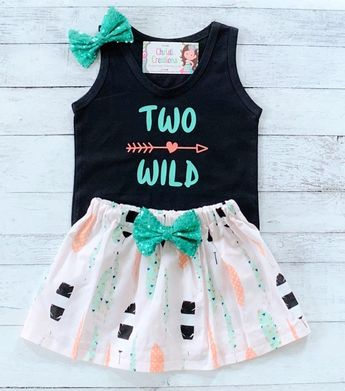 6ba83d887 2nd Birthday Girl Outfit, Two Wild Birthday, Two Wild Boho Birthday Girl,  2nd