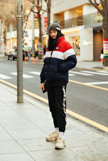 The last week of December 2018 Winter Women's Street Style in Seoul – écheveau