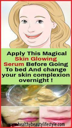 Do This For 15 Minutes Before Going To #Bed, It Can Change Your #Skin #Complexion #Overnight #DIY #beautytips #beautysecrets #DIYbeauty #homemade #skincare #skincaresecrets #skincaretips #skincarehacks