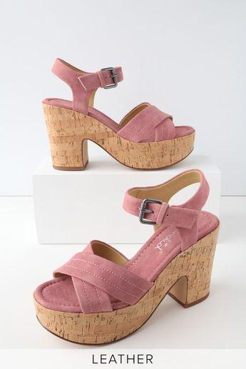 12f72d3a708b BCBGeneration Bianca Faux-Suede Block-Heel Slide Sandals