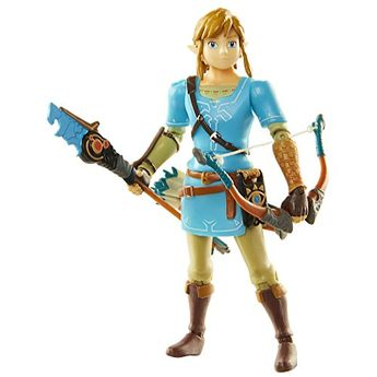 World of Nintendo Breath of the Wild Link 4-inch Action Figure