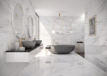 (c) Deutsche Fliese, Steuler #Bathroomgrey