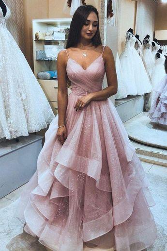 Long Prom Dress 8th Graduation Dress Custom-made School Dance Dress YDP0683