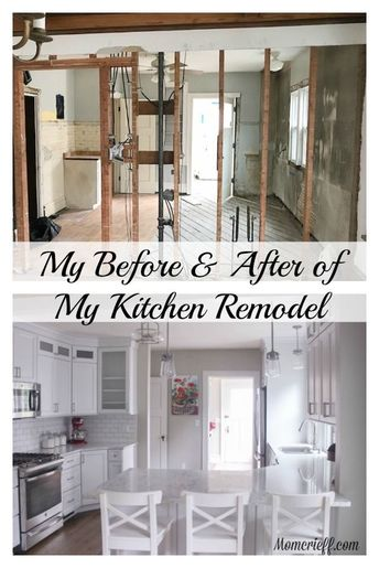 My kitchen remodel. I bought a house without a kitchen