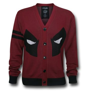 Deadpool Face Cardigan