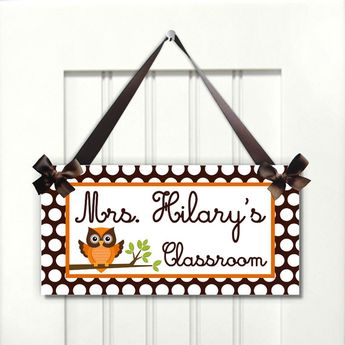 personalized daycare classroom door sign abc crayons kinde