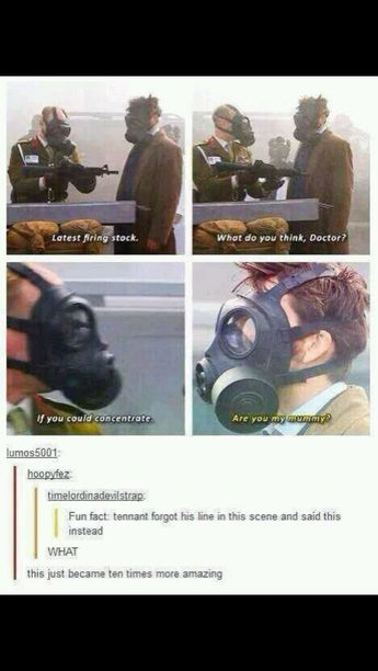 The time there was a doctor who reference in dr who