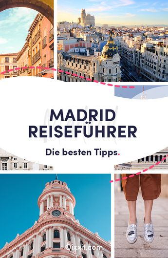 Erlebe spanische Lebensfreude in den Straßen von Madrid! Wir verraten Dir, welche Sehenswürdigkeiten Du in der Stadt unbedingt sehen musst, was Du essen solltest und wo Du Kunst von Picasso bis Goya bestaunen kannst. Lass Dich von unseren Madrid-Reisetipps zu einem aufregenden Städtetrip inspirieren.  #reiseziele #reisen #reisetipps #städtetrip #spanien #madrid #qixxit