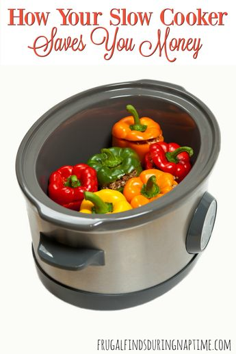 How Your Slow Cooker Saves You Money