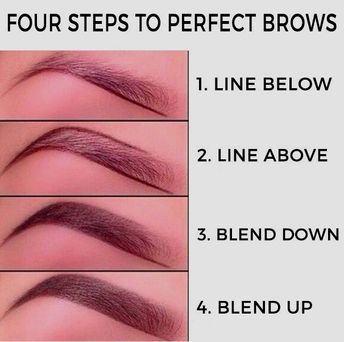 Beautifully shaped brows immediately up your makeup game: | 17 Ways To Trick People Into Thinking You're Good At Makeup #health and #beauty skincare