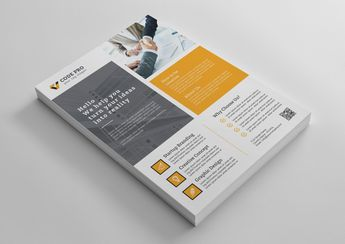 Salamanca Creative Business Flyer Design Template - Graphic Templates