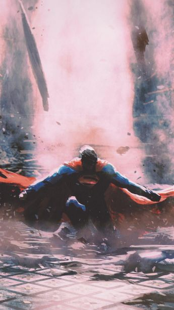 Superman, art, justice League, 2018, 720x1280 wallpaper