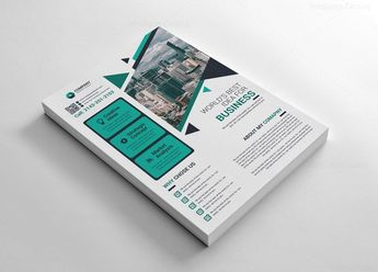Printable Corporate Flyers 002566 - Template Catalog