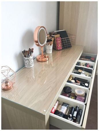 51 awesome ways real people store their makeup 15