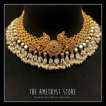 fadedff35 Divine antique blue huge krishna pendant necklace with earr
