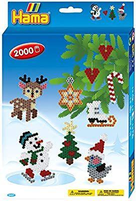 Hama Hanging Box-Christmas, 3437: Amazon.fr: Jeux et Jouets