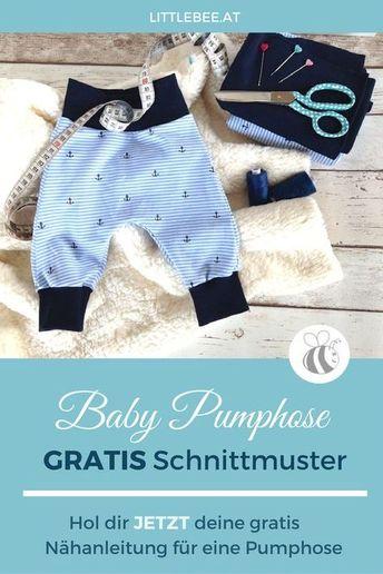 Freebook Käppchen Rockers - Schnittmuster Babymütze