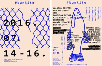 Hungarian designer Réka Neszmélyi designed the identity, website and graphic communications for Bánkitó Cultural & Music Festival, an annual music and theatre event which prides itself on championing socially-conscious attitudes in its weekend community.