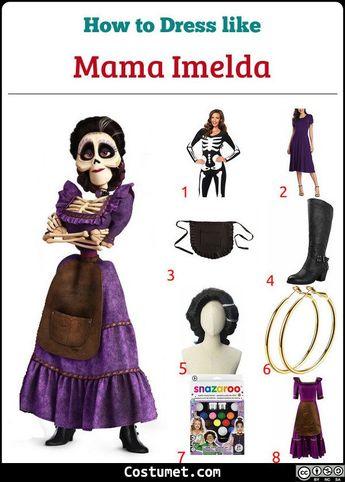 Mama Imelda Costume