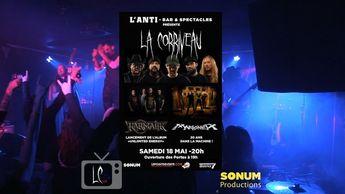 @la_corriveau Next show 18 may 2019 at @barlanti quebec  jesuislacorriveau  lacorriveau  live  blacksorrow  executioner  musician  stagelife  livemusic  instagroove  jesuisvivant  musician