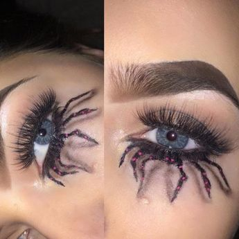 "OK, this takes ""spider lashes"" to a whole new level."