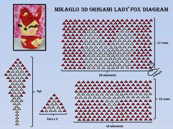 02 3d Origami Cat Tutorial End