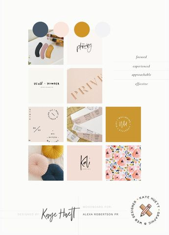 The creation of a logo design, business cards and website holding page for Alexa, a freelance PR specialising in the classical music industry.  #alexarobertsonpr #moodboarding #brandmoodboard