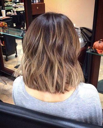 The Perfect Shoulder Length Hairstyle 2017 With Straight Equal Layers