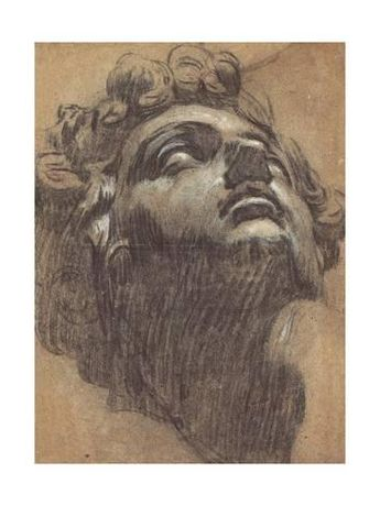 Head of Giuliano De' Medici (1479?151), 1540S Giclee Print by Jacopo Tintoretto