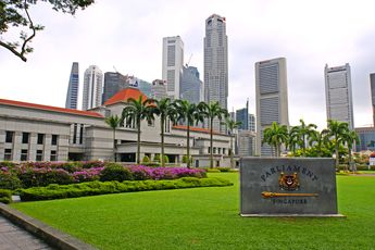 Parliament House in Singapore.
