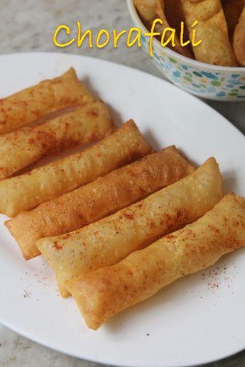 Chorafali Recipe - Gujarati Choraphali Recipe - Cholafali Recipe