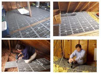 "Details about Attic Dek (4 PACK) Attic Flooring Decking Panels - Fits 16"" or 24"" Center Joist"