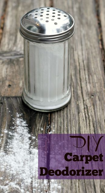DIY Carpet Deodorizer -Natural Option for Fresh Smelling Home